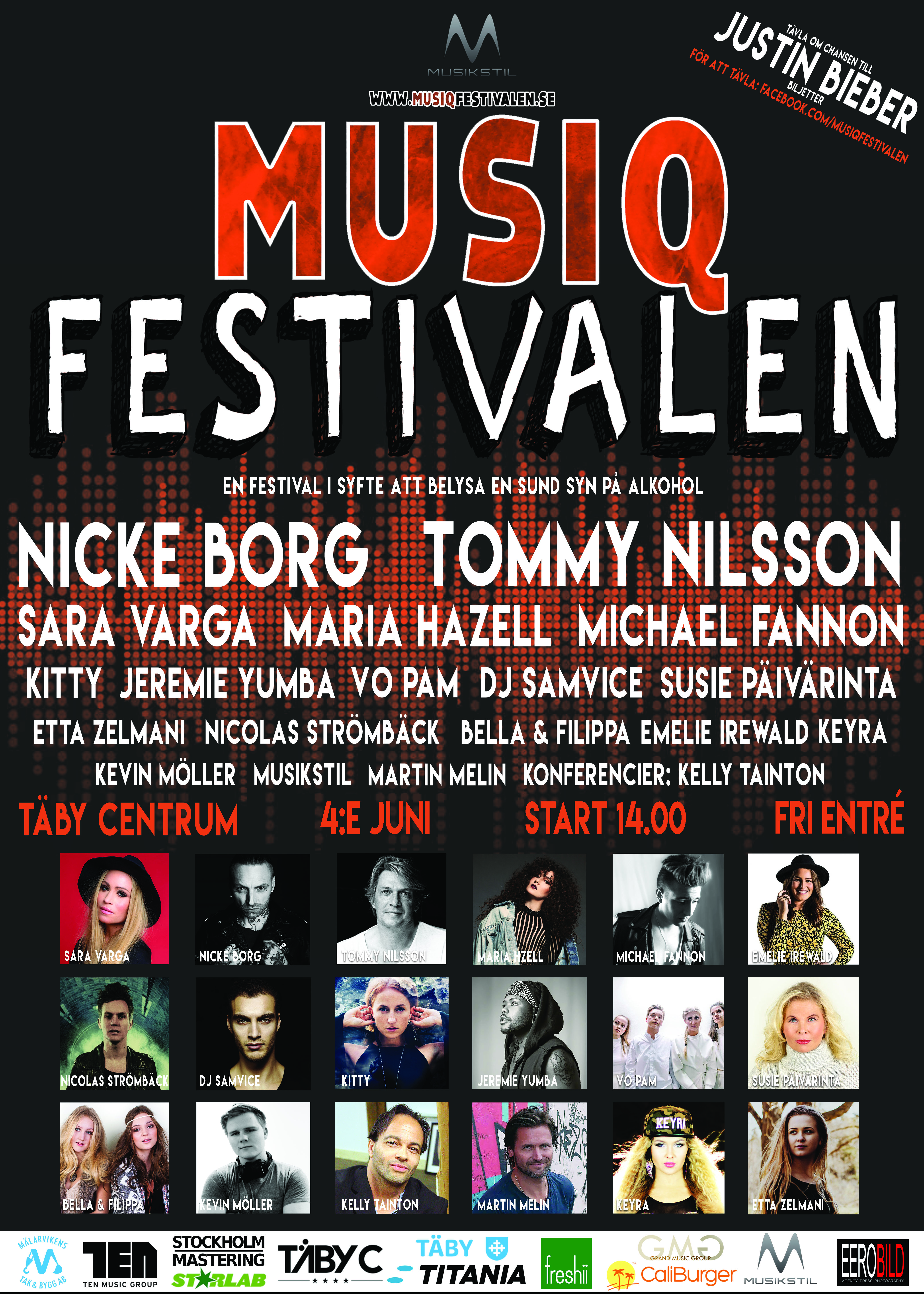 Musiqfestivalen POSTER